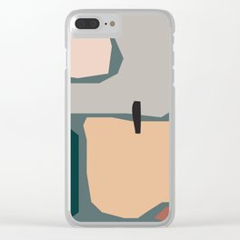 // Shape study #20 Clear iPhone Case