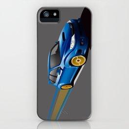 Blue Wonder iPhone Case