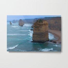 Australian Coastline 2 Metal Print