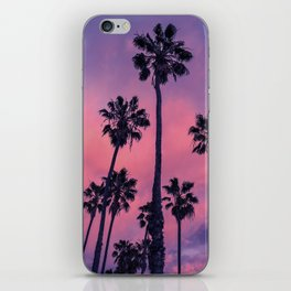 Palm trees and Sunset iPhone Skin