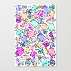 Jeweled Canvas Print