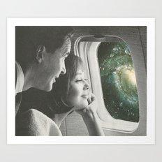 The Journey Ahead Art Print