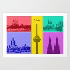 Kölner Dom Art Print