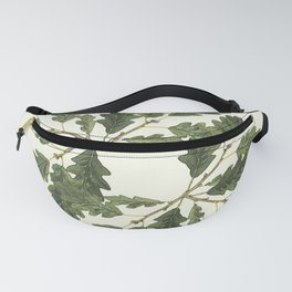 Oak ensemble (Cream  ground) Fanny Pack