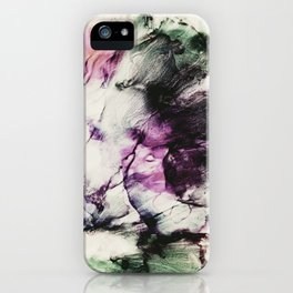 Ink petals iPhone Case
