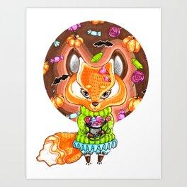 Sweetness or muck? Art Print