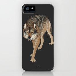 Wondering Wolf iPhone Case
