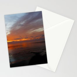 Ocean Orange Stationery Cards