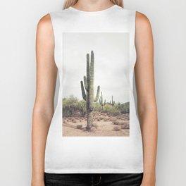 Desert Cactus Biker Tank
