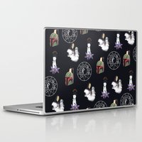 witchcraft Laptop & iPad Skins featuring The WitchCraft Of The DarkSide by Robert Payton