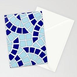 Mosaico azul Stationery Cards