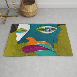 Stains of awareness Rug
