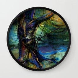 Spirit Tree by Kathy Morton Stanion Wall Clock