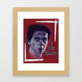 Eddie Kaspbrak Framed Art Print