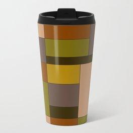 Abstract #370 Mondrian #6 Travel Mug