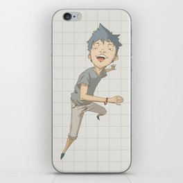 Happy Boy iPhone Skin