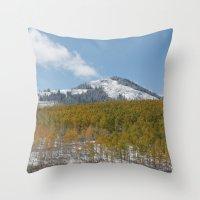 colorado Throw Pillows featuring Colorado by Chris Root