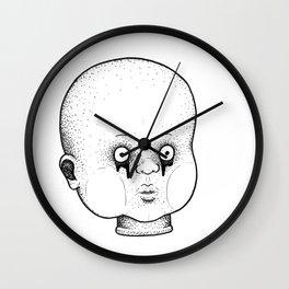 Babydoll Head Wall Clock