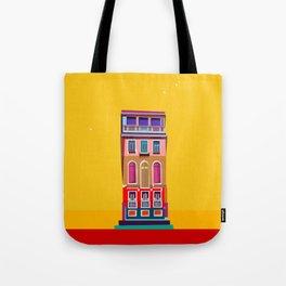 Manarola House, Cinque Terre, Italy Tote Bag