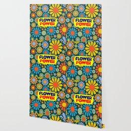 flower power feminist saying Wallpaper