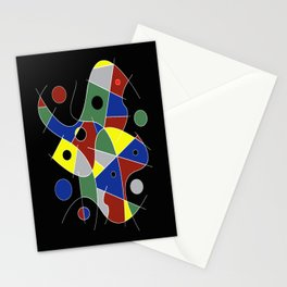 Abstract #232 Stationery Cards