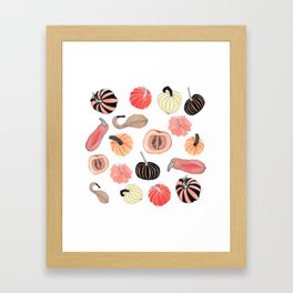 Pumpkin Party Framed Art Print