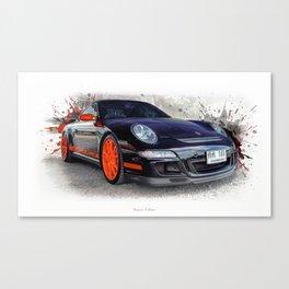 Cars: Porsche GT3 RS Canvas Print