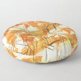 October Sober Floor Pillow