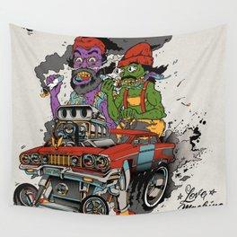 Cheech & Chong Love Machine Wall Tapestry