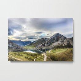 Enol, the Lakes of Covadonga Metal Print