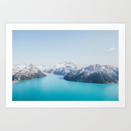 Garibaldi Lake Art Print