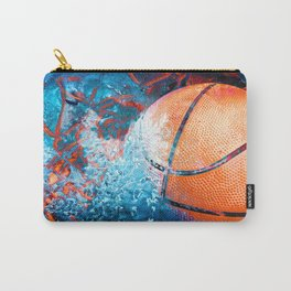 Unique Basketball Art Carry-All Pouch