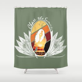 Chase the Summer Shower Curtain