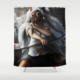 Mononoke Shower Curtain