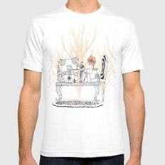Fall Mens Fitted Tee MEDIUM White