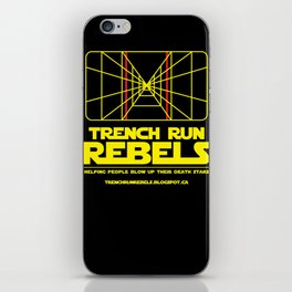 Trench Run Rebels iPhone Skin