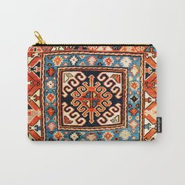 Shahsavan Sumakh Khorjin  Antique Caucasian Bag Print Carry-All Pouch