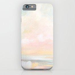 Rebirth - Pastel Ocean Seascape iPhone Case