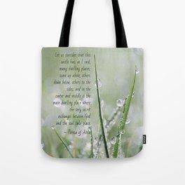 Teresa of Avila Quote Tote Bag