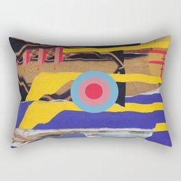 pulled muscle Rectangular Pillow