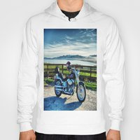 middle earth Hoodies featuring Harley Davidson, Middle Earth Edition. by Bodhikai Imagery | Pacific Northwest Tra