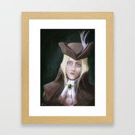 The Grief Framed Art Print