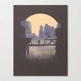 The Last of Us 2 Poster Series - Lev's shortcut Canvas Print