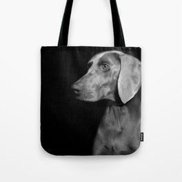 CHILI WEIMARANER Tote Bag