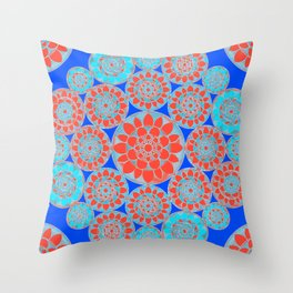 Flower Factory Throw Pillow