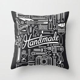 Make Handmade - Black Throw Pillow