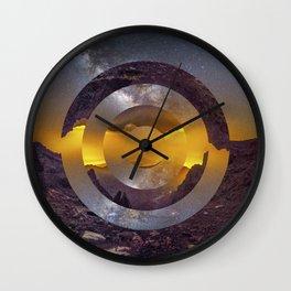 CIRCULAR LANDSCAPE Wall Clock