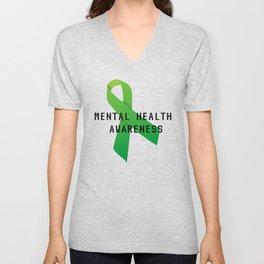 Mental Health Awareness Unisex V-Neck