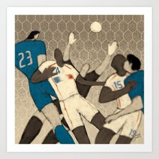 History of FIFA World Cup - Germany 2006 Art Print