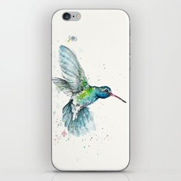 Hummingbird Flurry iPhone Skin